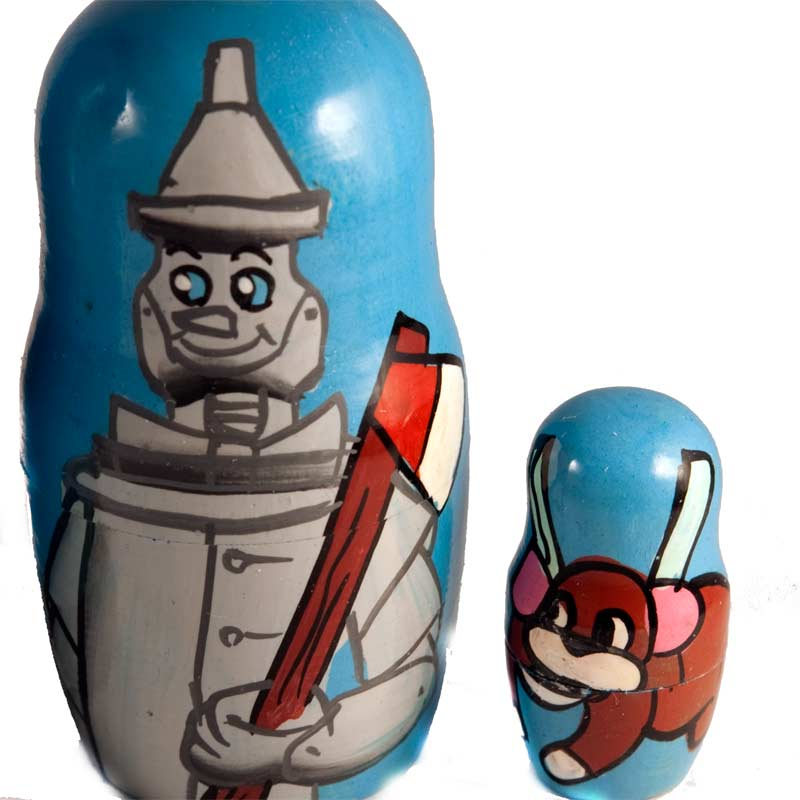 Wizard of Oz Matryoshka Doll