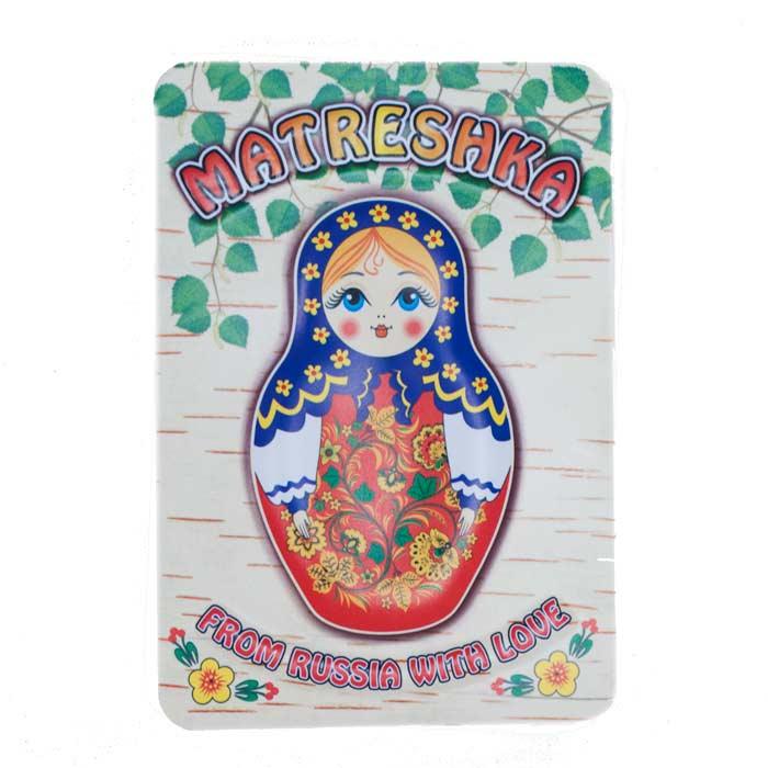 Fridge Magnet with Matryoshka