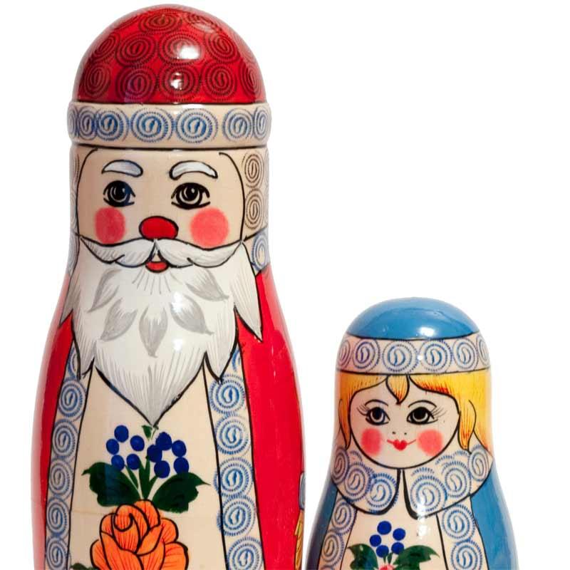 Matryoshka Ded Moroz (Father Frost)