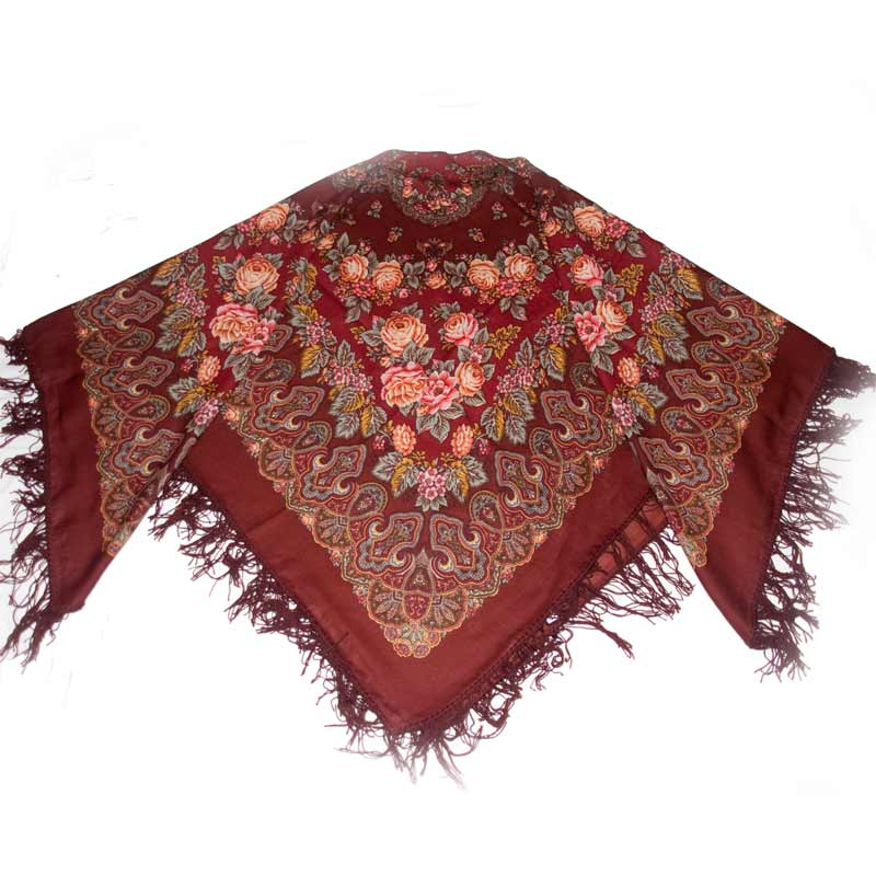 Slavic Holidays Posadskiy Shawl