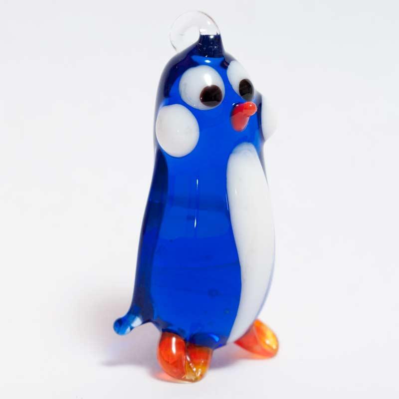 Penguin Glass Pendant