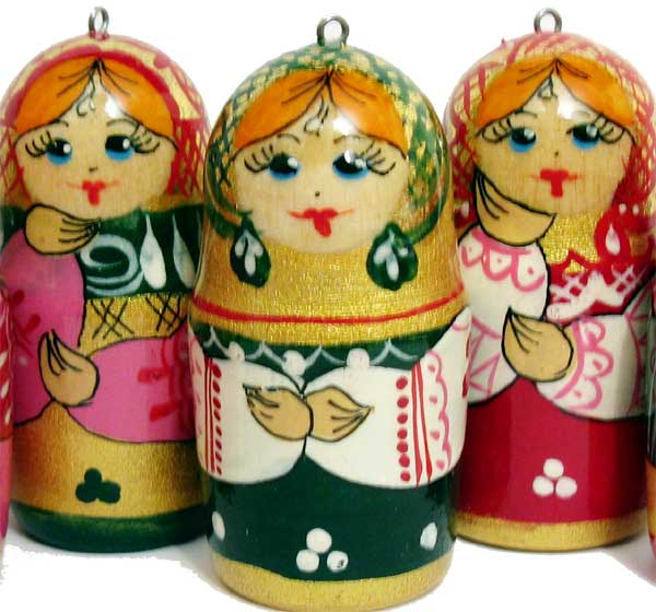 Christmas Ornaments Matryoshka