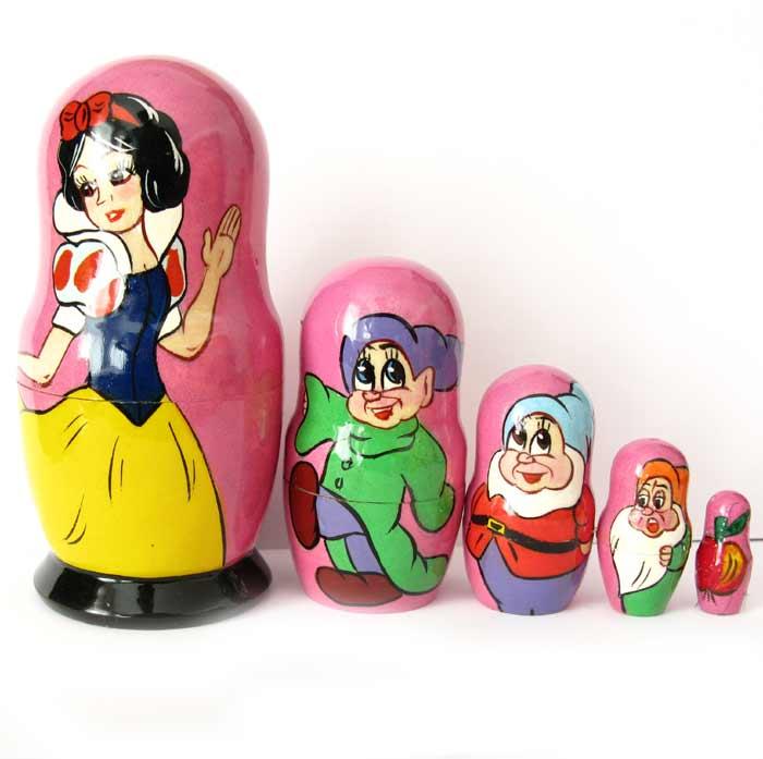 Snow White Disney Nesting Doll