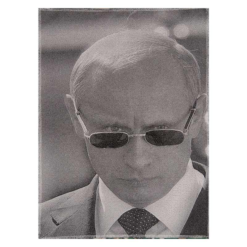 Vladimir Putin Textile Picture