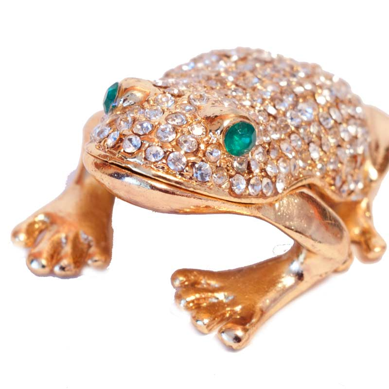 "Faberge box ""Frog"""