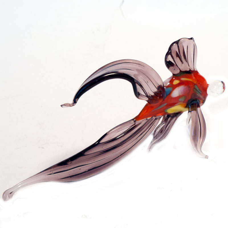 Glass Fish Figure