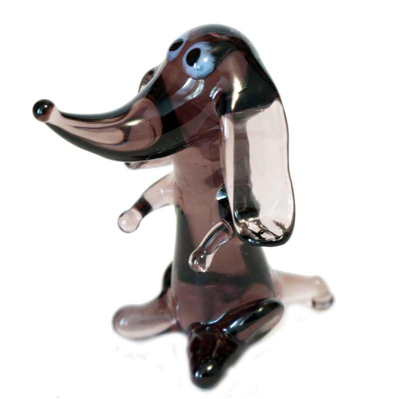 Glass Dog Dachshund