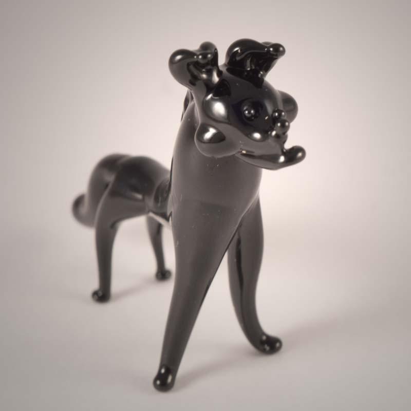 Glass Figurine Hyena