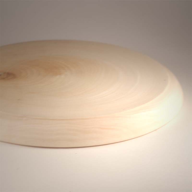 Wooden Unpainted Plate