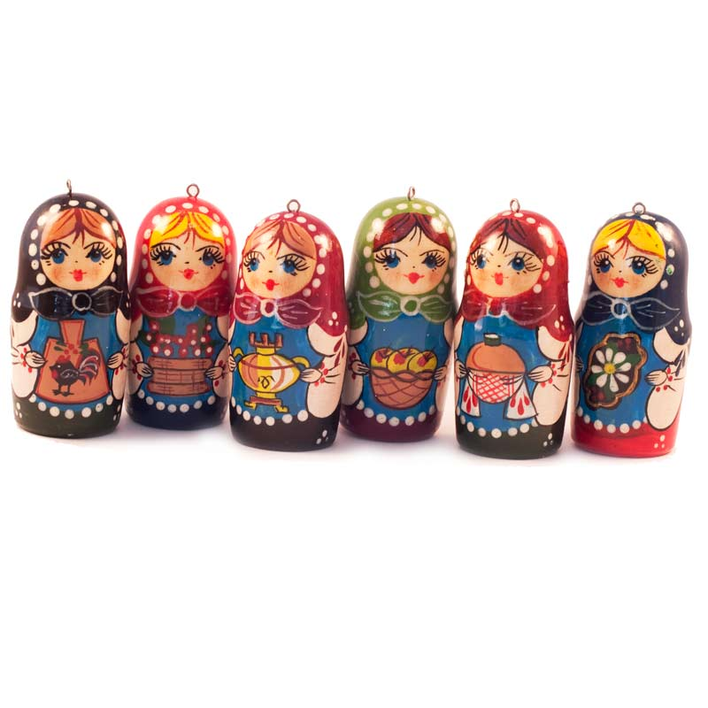 Christmas Ornaments Matrioshka