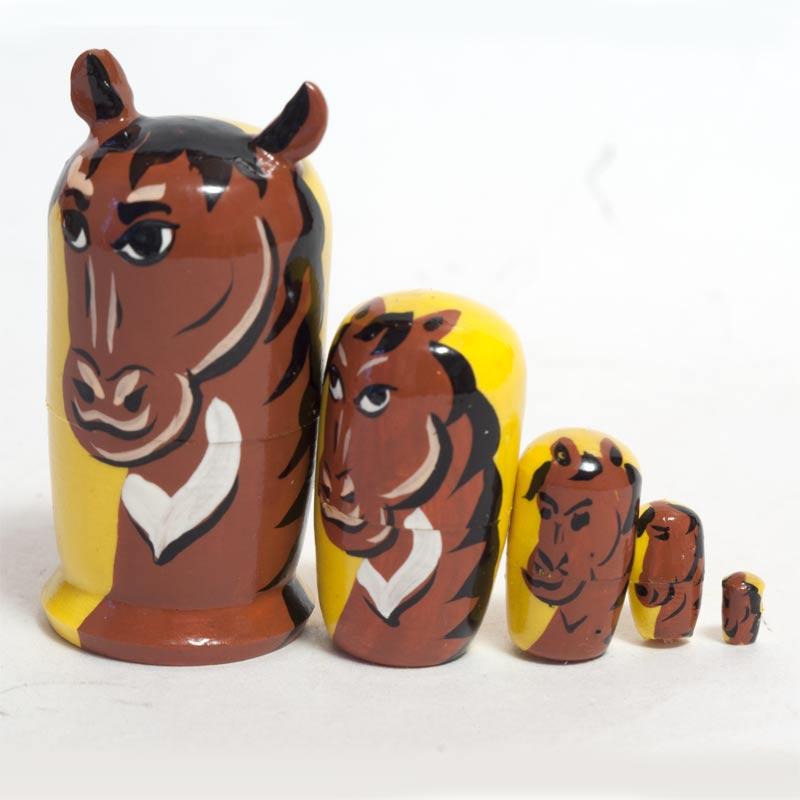 Matryoshka Doll Horse