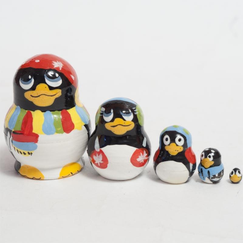 Matryoshka Doll Penguins