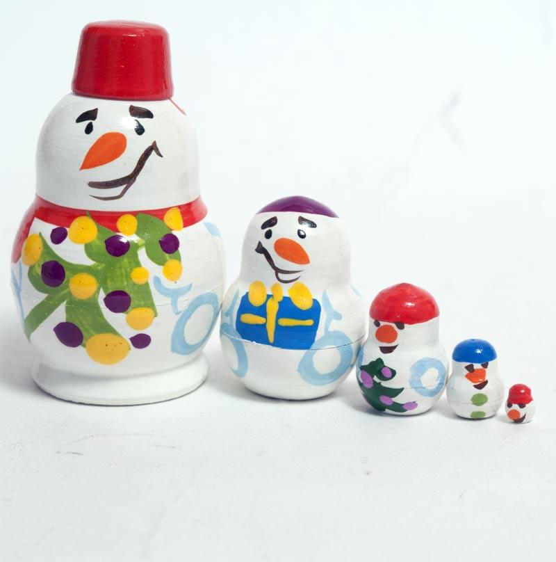 Matryoshka Snowmen