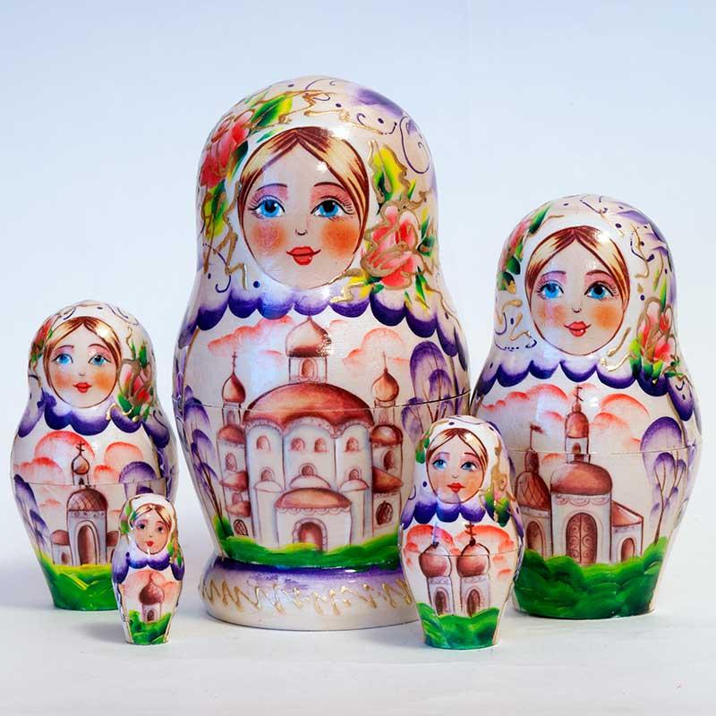 Matryoshka Russian Domes