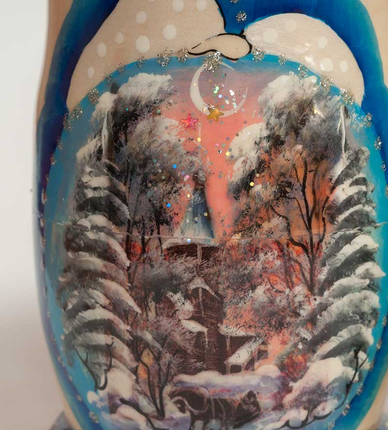 Matryoshka Winter Sights