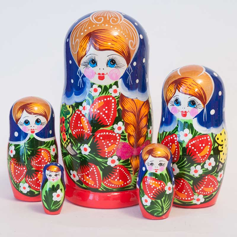 Polina's Traditional Matryoshka