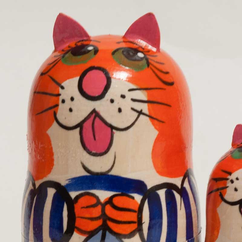 Nesting Doll Cats Sailors