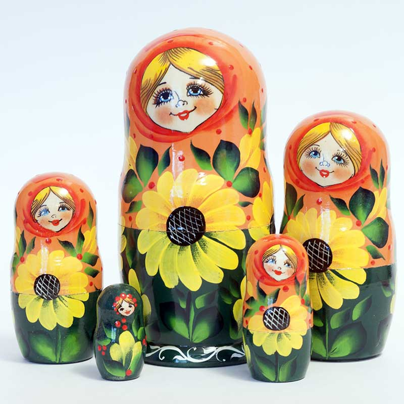 Matryoshka Sunflowers