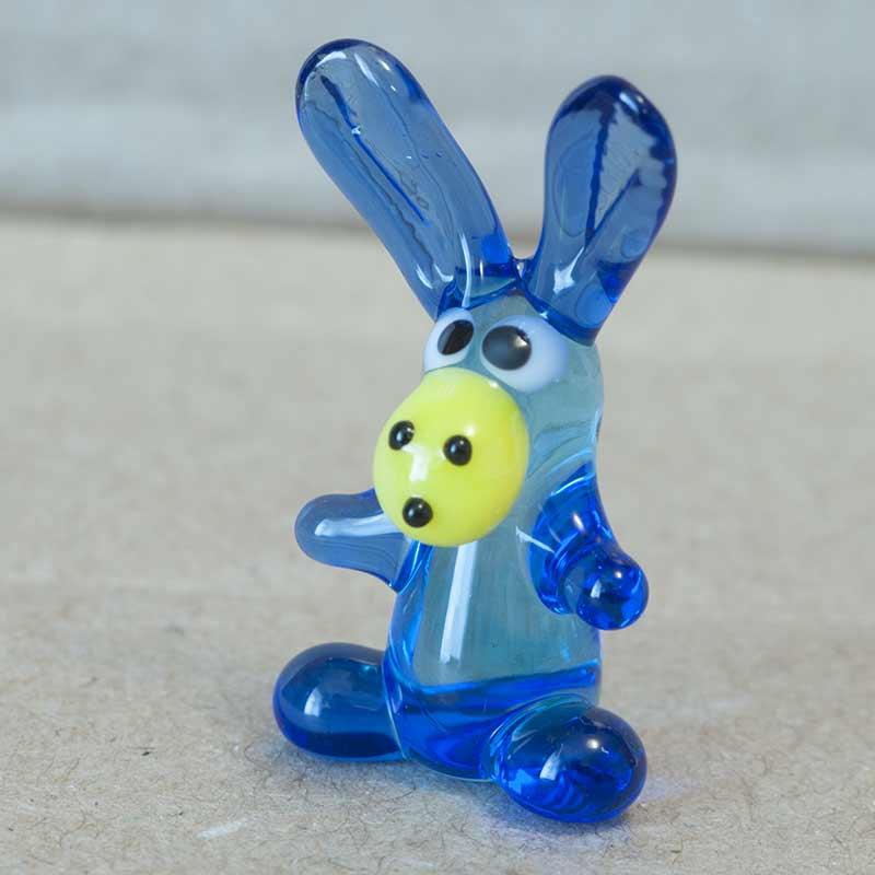 Jolly Donkey Glass Miniature