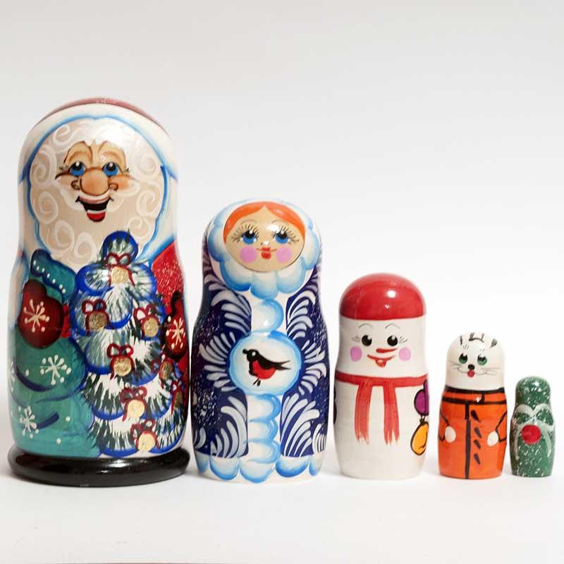 Matryoshka Ded Moroz