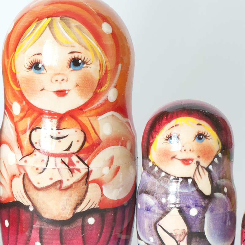 Matryoshka with Sunflower