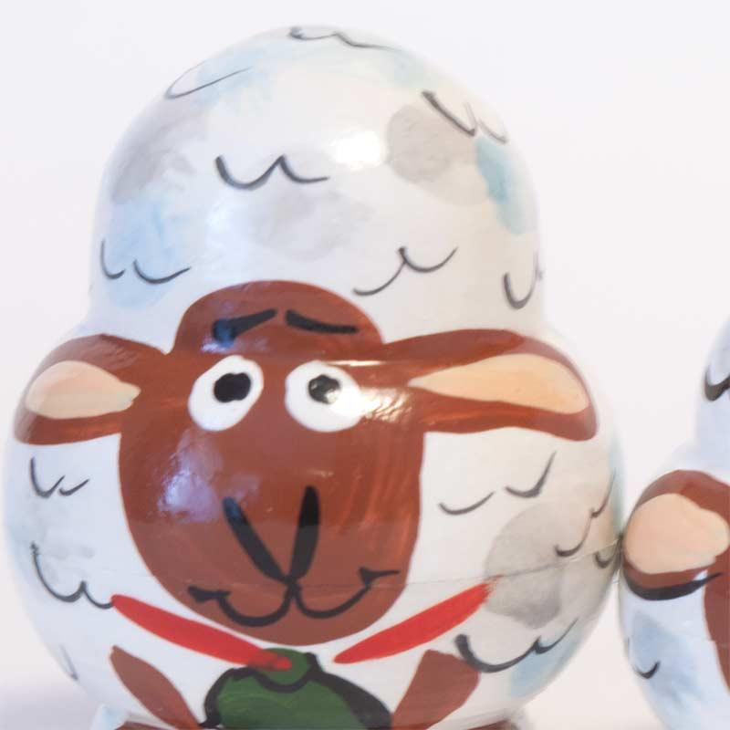 Matryoshka Doll Sheep