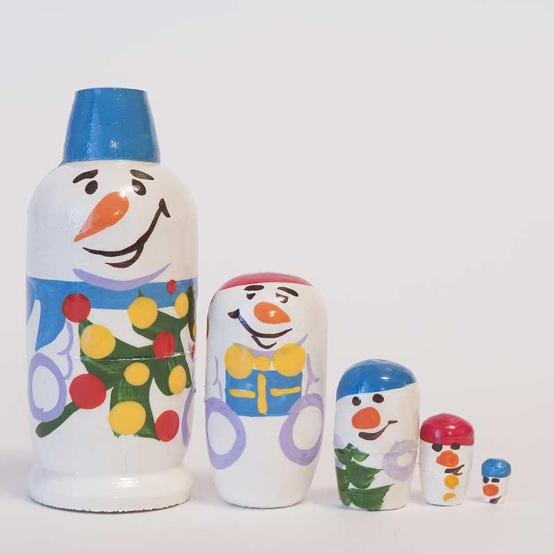 Stacking Doll Snowmen