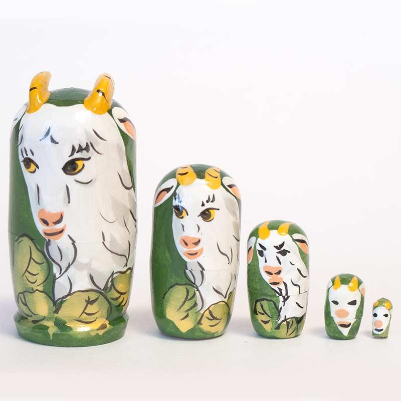 Goats Matryoshka Doll