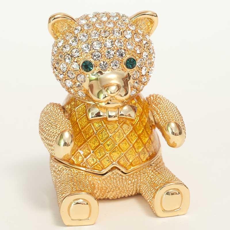 """Faberge box """"Teddy bear"""""""