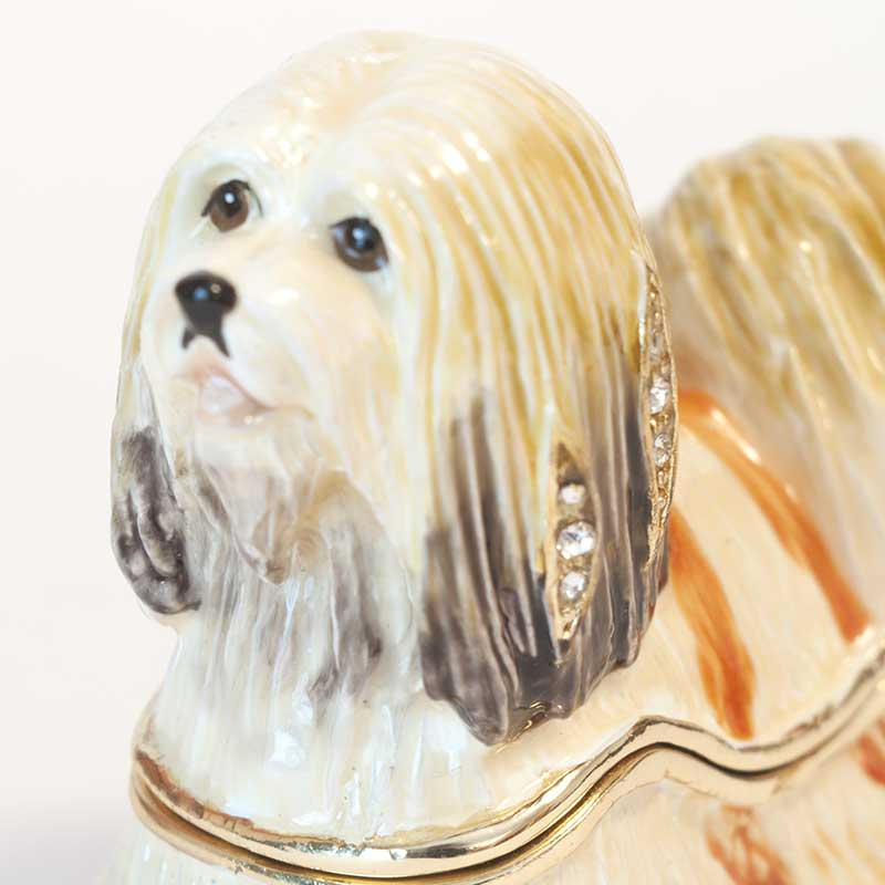 Faberge Box Lapdog