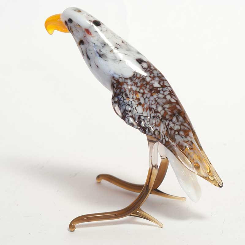 Blown Glass Eagle Figure