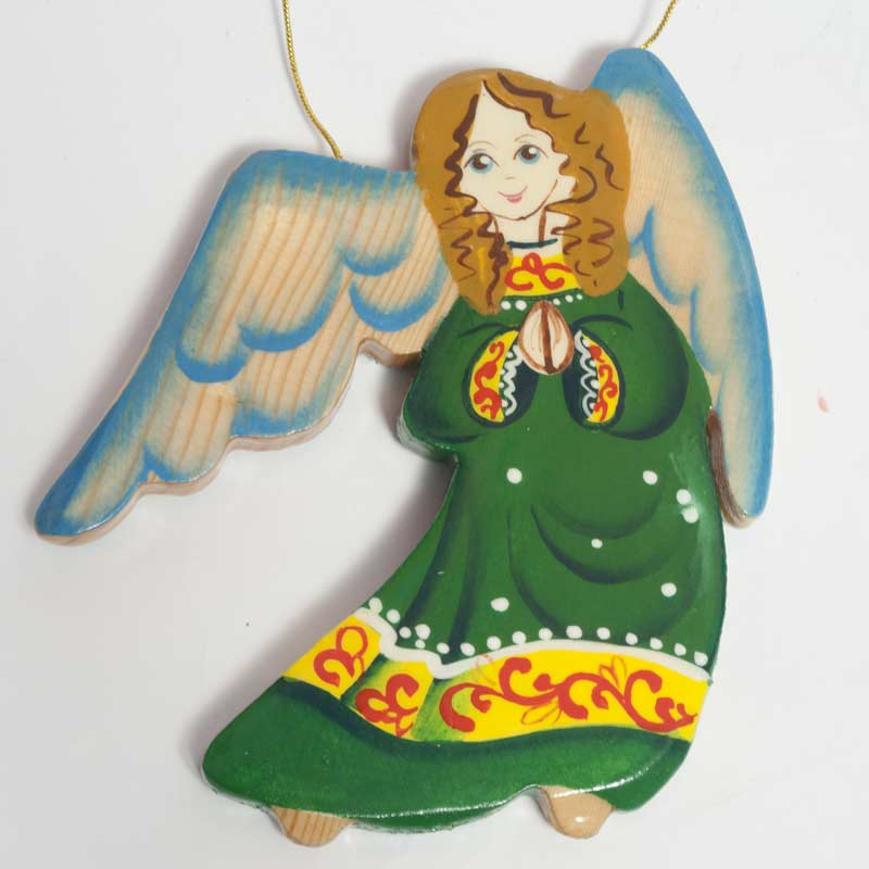 Angel in Green Robe
