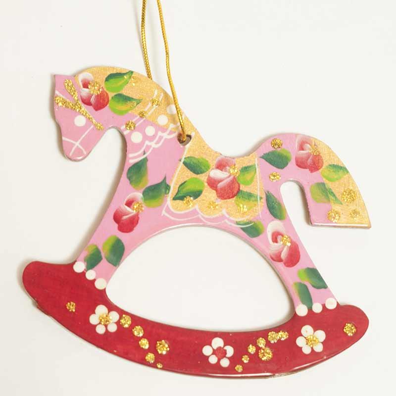 figurine horse fig - Horse Christmas Ornaments