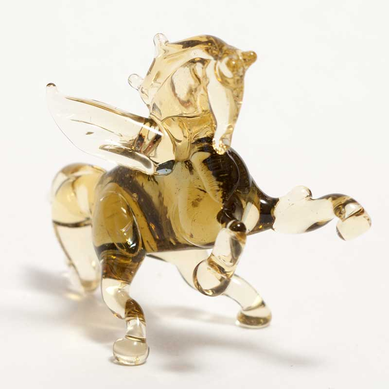 Glass Figurine Pegasus
