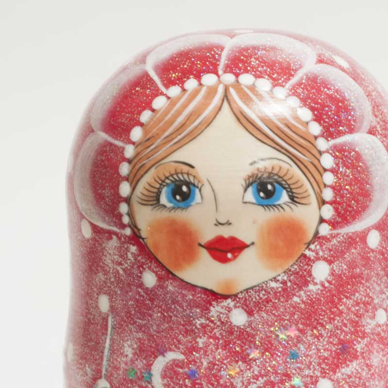 Matryoshka Russian Winter Night