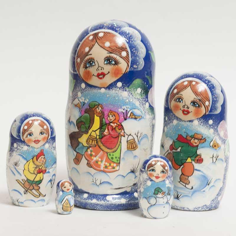 Russian Winter Festive Time
