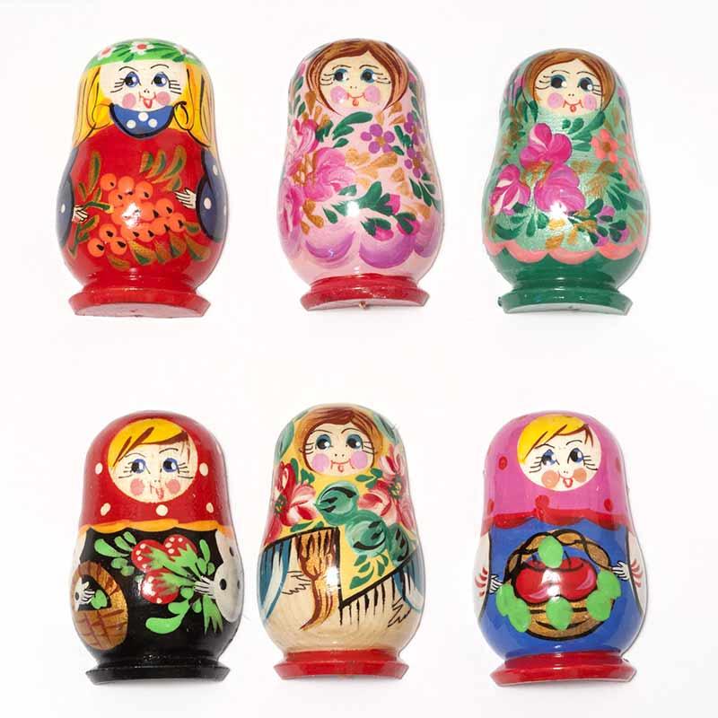 Set of Assorted Matryoshka Magnets