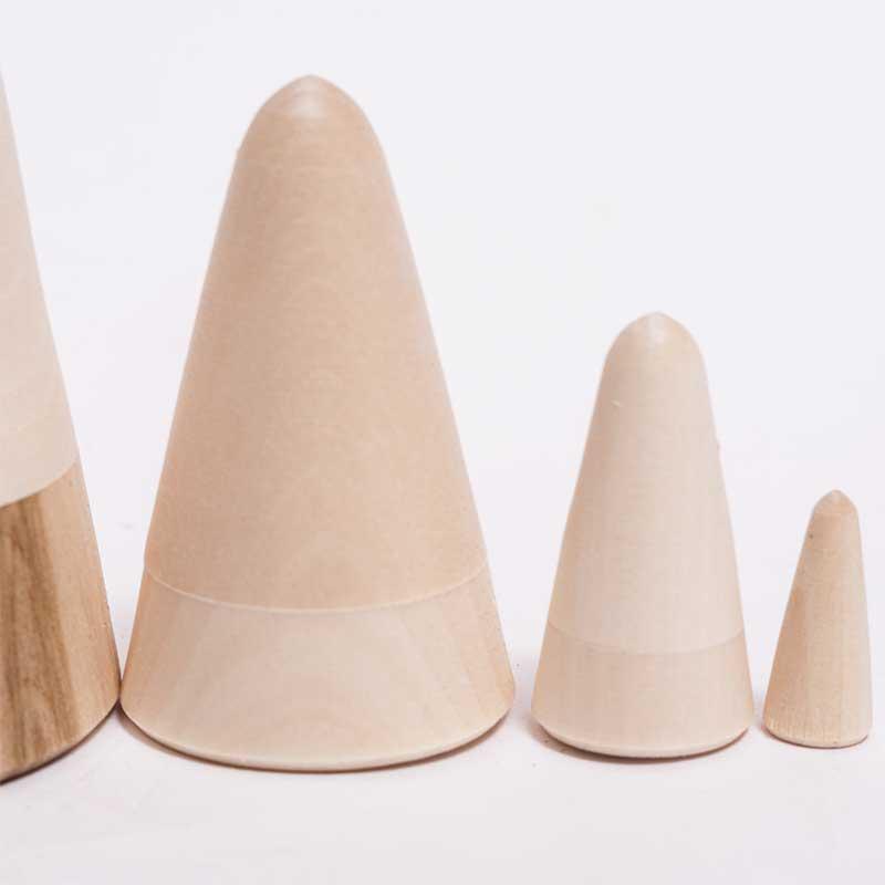 Cone Shape Blank Matryoshka
