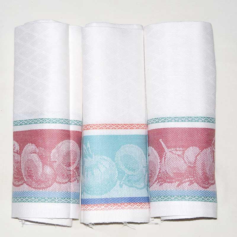 Kitchen Towels Vegetables