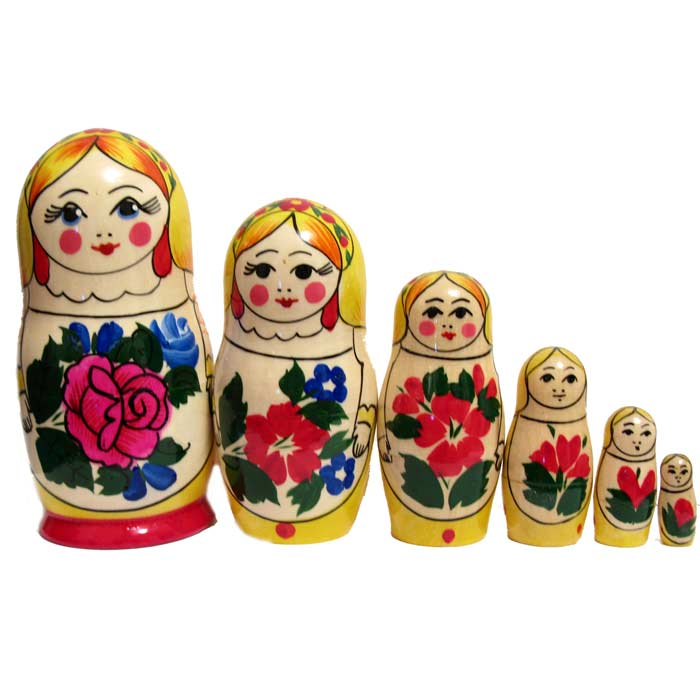 Matrioshka Young Beauty