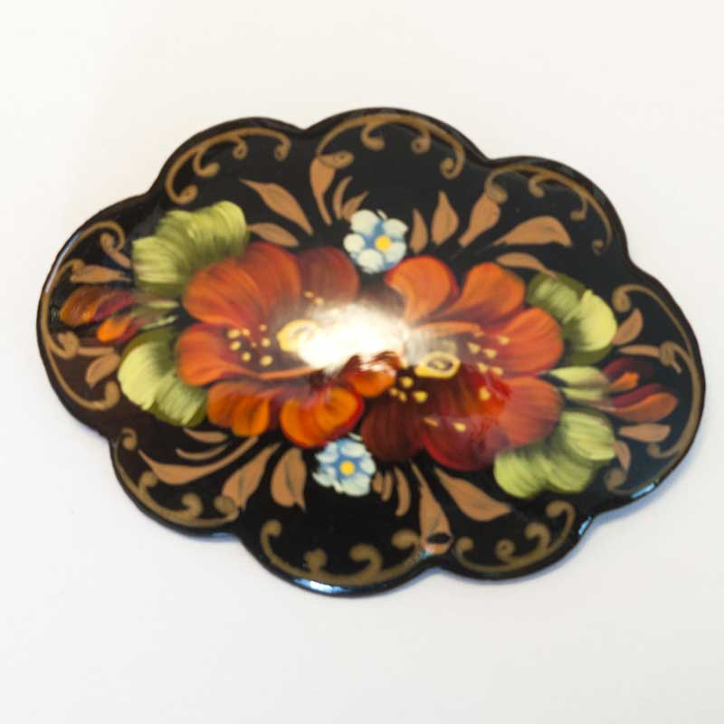 Flowers brooch