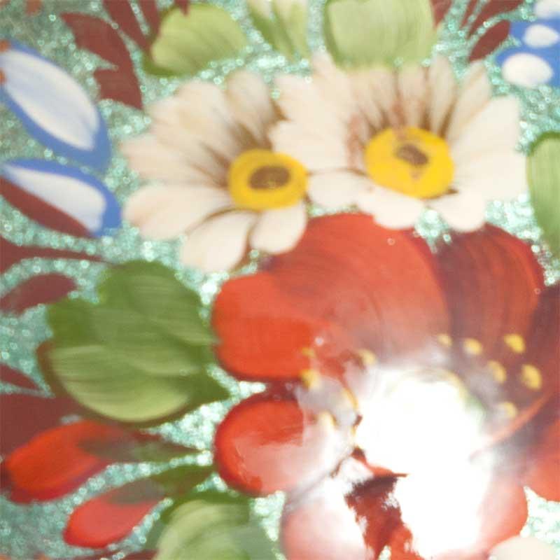 Poppy Flower on Green, fig. 2