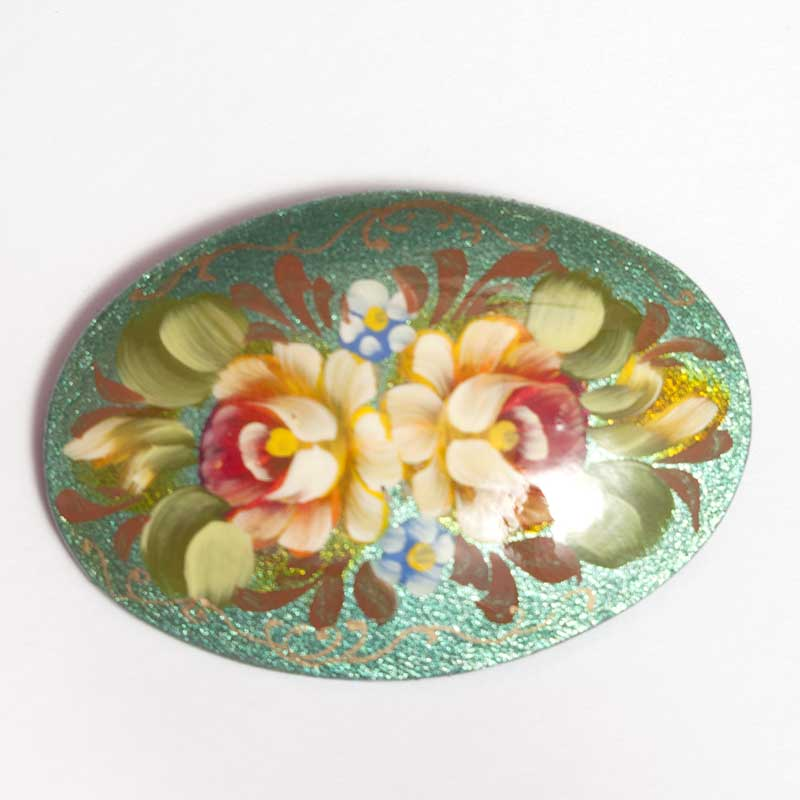 Brooch with Flowers
