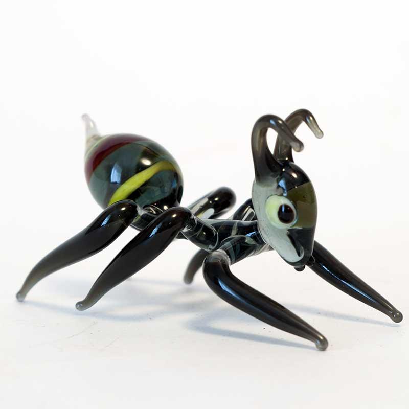 Ant Glass Figurine