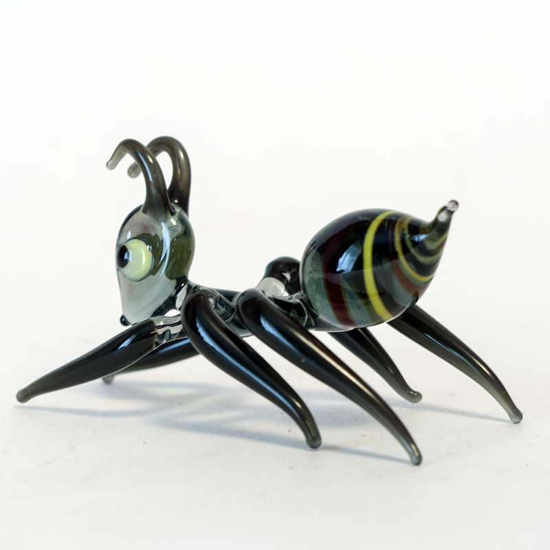 Glass Ant Figurine