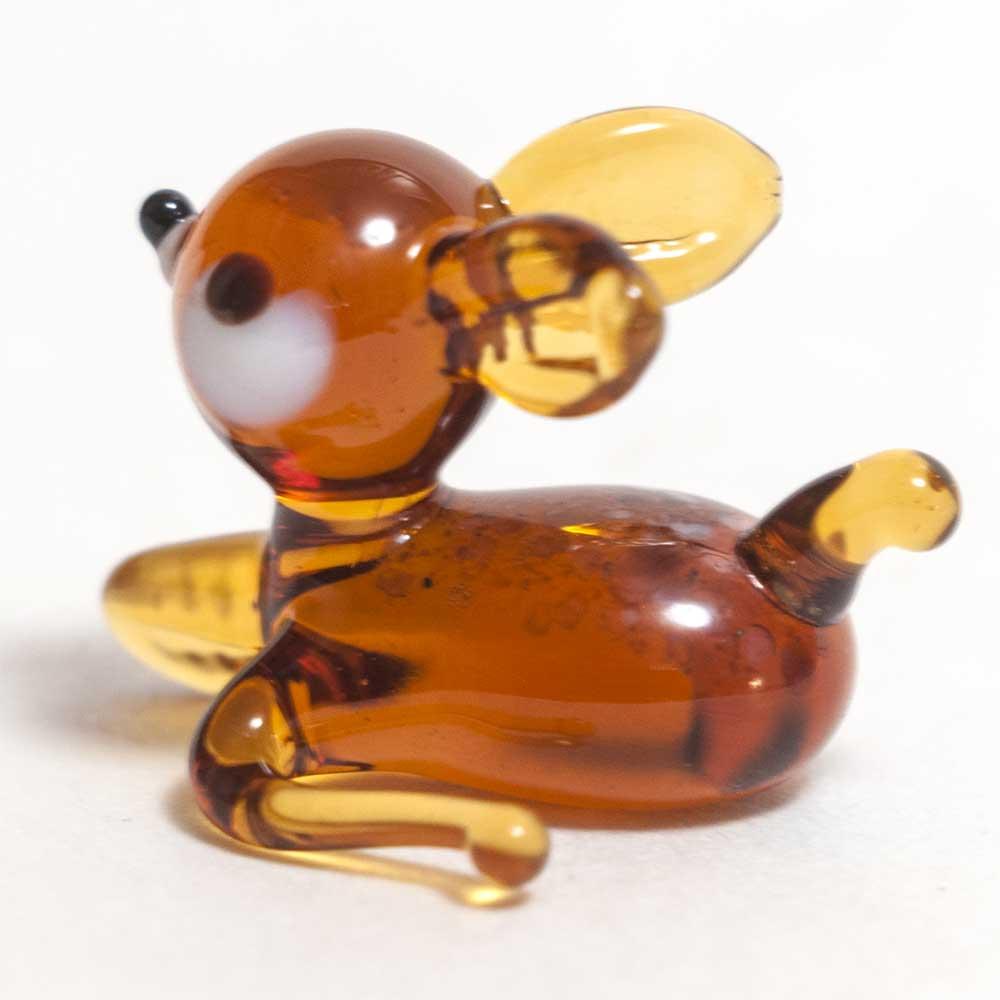 Glass Deer Bambi Figure