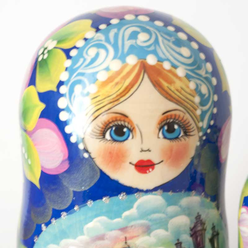 Matryoshka Saint-Petersburg Sights