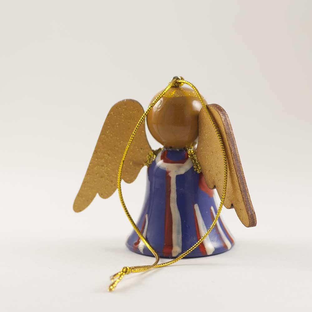Figure Angel in Violet Coat