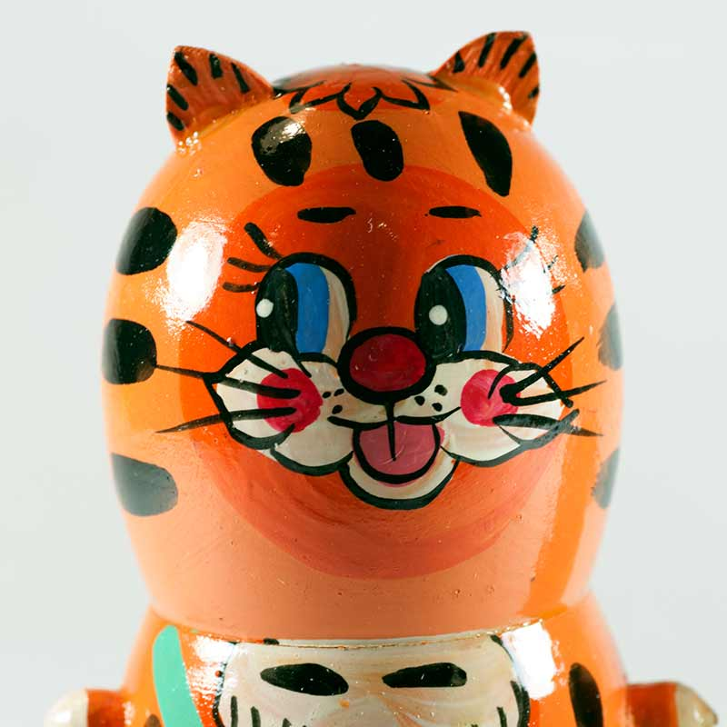 Nesting Doll Little Tigers