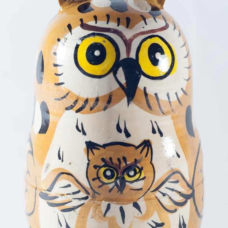 Matryoshka Owls Family